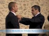 3-10-2012 - Remise de la Médaille de l'Ordre National du Mérite