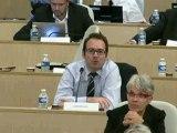 AP 4 octobre 2012 - Intervention de Fabrice MARCHIOL durant le débat sur l'avis du Conseil régional sur le projet régional de Santé
