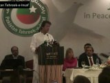 Imran Khan's Speech at Media Briefing for PTI Waziristan Peace March (October 4, 2102)