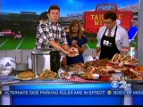 John McLemore Cooks Up Some Dadgum Good Recipes for Tailgating on CBS2 News This Morning in NY