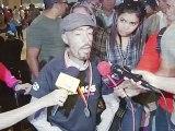 maikel melamed Caracas, Miércoles 3 de octubre de 2012, En el aeropuerto de Maiquetía, en su  retorno a Venezuela tras intervenir en el maratón de Berlín, el atleta motivacional Maikel Melamed anunció que participará el de Berlín.