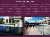 Regulations for Pool Fencing in Australia
