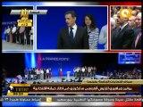مؤتمر جماهيري لـ ساراكوزي في إطار حملته الانتخابية