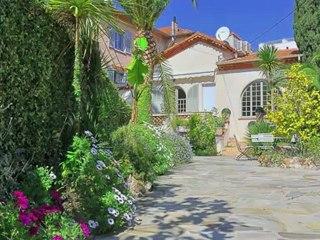 Villa à vendre Juan-les-Pins (06160) - Quartier de la Pinède Gould - jardin - 73m2