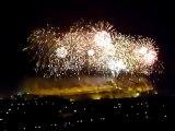 feu d'artifice cité de carcassonne 14 juillet 2011