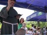 Rio: des animaux bénis pour la St François d'Assise