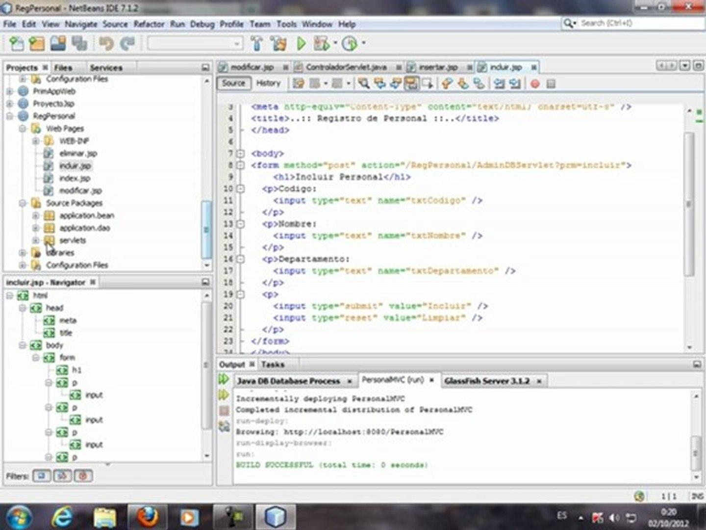 Curso de Java J2 EE Video Tutorial. j2ee java, Desarrollo Java,TRABAJO EN JAVA JEE.