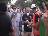 Enfrentamientos entre policía y manifestantes en Egipto