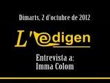 EDG 2012-10-02 Imma Colom