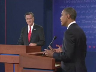 Silences : Presidential Debate 2012 (Complete Silences) Romney vs.Obama By Systaime