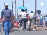Scontro sociale in Sudafrica, dalle miniere ai trasporti