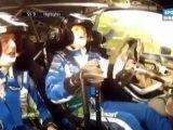 Sortie de route de Petter Solberg -  Rallye de France en Alsace 2012