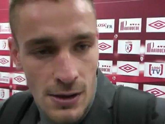 """Mathieu Debuchy après LOSC-Ajaccio : """"Nous avons fait le boulot, on a gagné"""""""