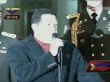 CHAVEZ 06-10-12 Caracas, Sábado 6 de octubre de 2012, El Presidente de la República y candidato a la reelección, Hugo Chávez Frías, recibió en el Palacio de Miraflores al Jefe de Acompañamiento de la UNASUR, Carlos Álvarez; y, además, respondió a diversas