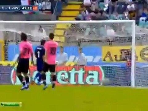 Siena 1 - 1 Juventus Calaio Goal