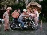 The Fonz on his Motorcycle Henry Winkler