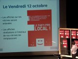 Soirée des commerçants du Jeudi 4 Octobre 2012 à Saint Jean de Maurienne