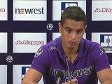 Conférence de presse Toulouse FC - Valenciennes FC : Alain  CASANOVA (TFC) - Daniel  SANCHEZ (VAFC) - saison 2012/2013