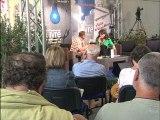 Patricia Dao au Festival du Livre de Mouans-Sartoux.