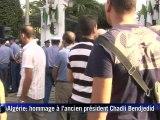 L'Algérie rend hommage à l'ex-président Bendjedid