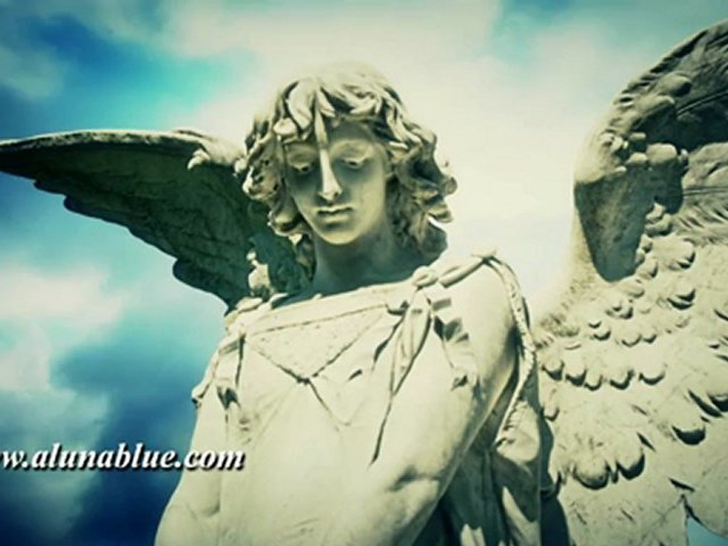 Church Video Backgrounds - Angels 01 clip 01 - Worship Stock Video - Stock Footage
