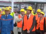 Automobile : Arnaud Montebourg en visite dans la région