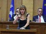 """Ομιλία της Εκδότριας της εφημερίδας """"ΔΥΤΙΚΗ"""", Μιράντας Μπιλιώνη, σε ροταριανή εκδήλωση στην Κοζάνη"""