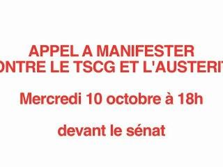 appel à manifester mercredi, 10 octobre