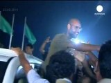 Libya formally requests a home trial for Gaddafi son