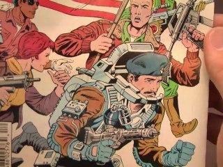 CGR Comics - G.I.JOE ORDER OF BATTLE #1 comic book review
