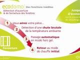 ECODOMO: radiateurs et panneaux rayonnants pour des économies visibles