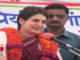 Priyanka Gandhi: Sonia Gandhi does a lot for Raebareli, but the state government creates hurdles