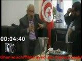 Rached Ghannouchi filmé par une Caméra cachée