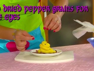 Quick & easy children recipe: smashed potatoes ghosts