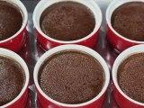 baked chocolate custard pudding cups recipe