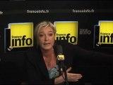 """Marine Le Pen et """"le danger terroriste"""""""