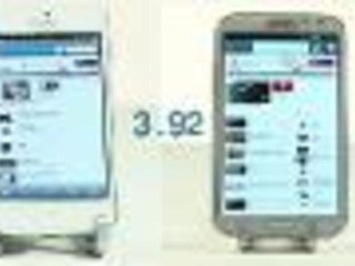 Note 2 vs iPhone 5 Speed Test