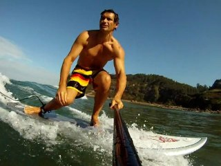 GoPro HD + SUP StarBoard Wave Pro 8.5