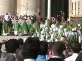 Catholicisme: cérémonie de commémoration de Vatican II