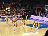 29 Mart 2012 Euroleague Women Fenerbahçe Galatasaray MP Maçı Maç Öncesi Atmosfer
