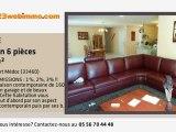A vendre - maison - Cussac Fort Médoc (33460) - 6 pièces -