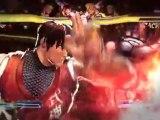 Street Fighter X Tekken PS Vita : gameplay trailer #2