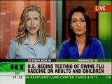 Swine flu vaccine could have major medical side effects