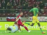 Niewykorzystana sytuacja Arka Piecha w meczu Polska - RPA
