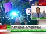 'Monsanto _ Frankenstein next!' Max Keiser destroys 2012 Nobel Peace Prize