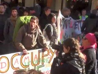 manifestation contre la dette 13/10/12 Global noise