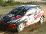 Highlights 1er jour rallye terre des Cardabelles 2012 ( grosse attaque dans une bosselé, passage des canto)