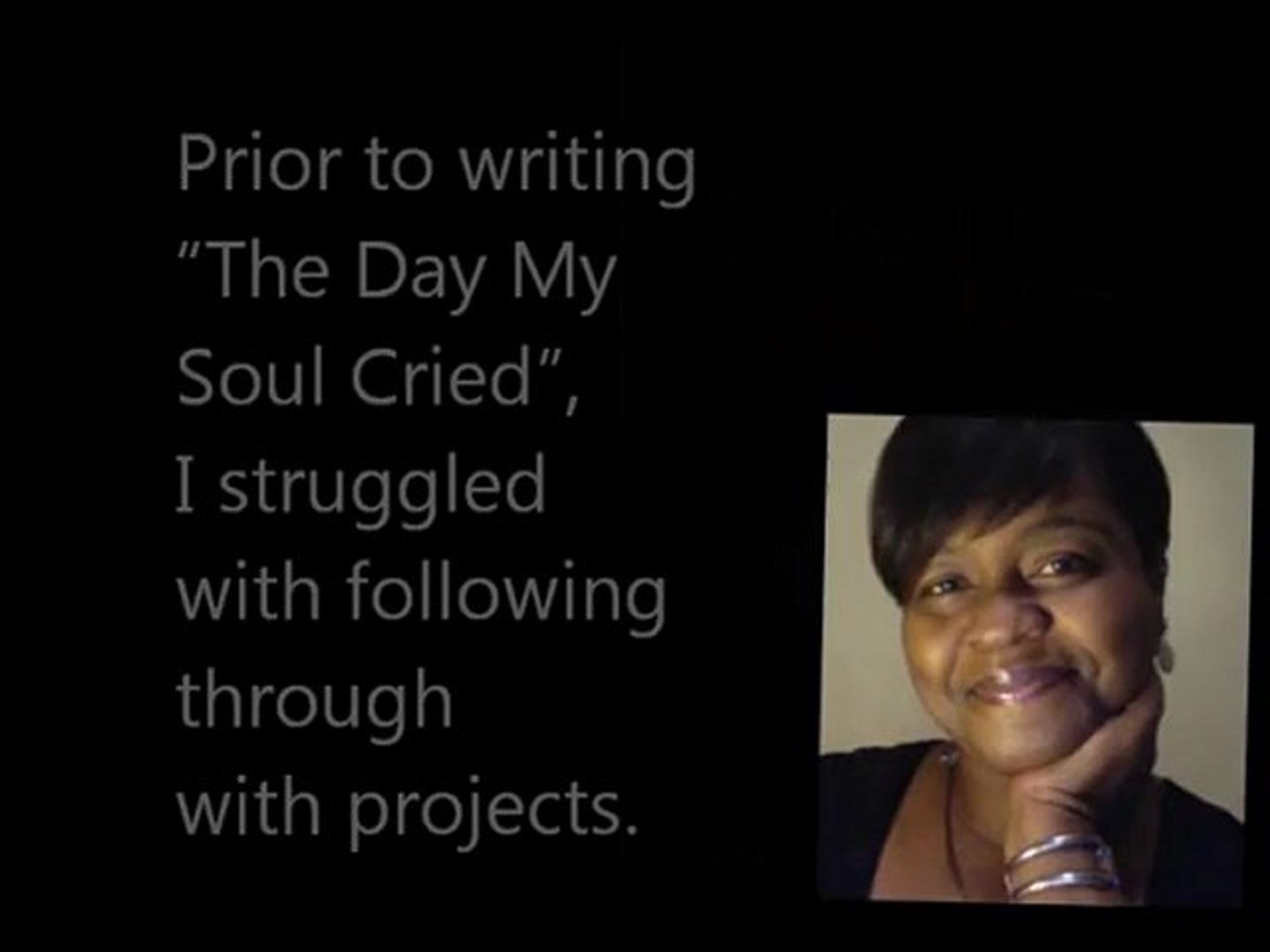 JoeyPinkney.com 5 Minutes 5 Questions With Yvonne N. Pierre (The Day My Soul Cried)