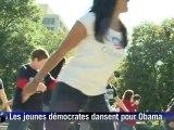 USA: Des flashsmobs à travers le pays en faveur d'Obama