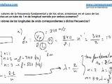 Fisica fenomenos ondulatorios ondas estacionarias frecuencia fundamental y armonicos